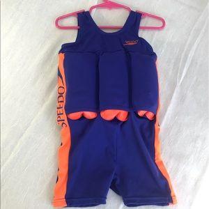 Speedo Children's Swim Assist Suit   Size 2-4Years